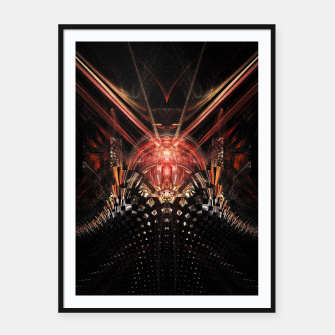 Thumbnail image of Perception Abstract |  Framed poster, Live Heroes