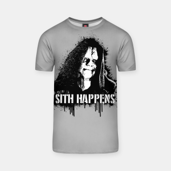 Thumbnail image of S1th Happens T-shirt, Live Heroes