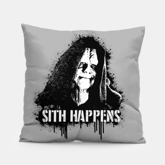 Thumbnail image of S1th Happens Pillow, Live Heroes