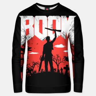 Thumbnail image of This Is My Boomstick Unisex sweater, Live Heroes