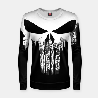 Thumbnail image of Weapons Of Punishment Woman cotton sweater, Live Heroes