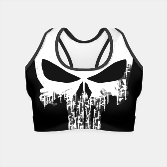 Thumbnail image of Weapons Of Punishment Crop Top, Live Heroes