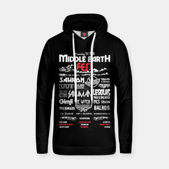 Thumbnail image of Middle Earth Fest Cotton hoodie, Live Heroes