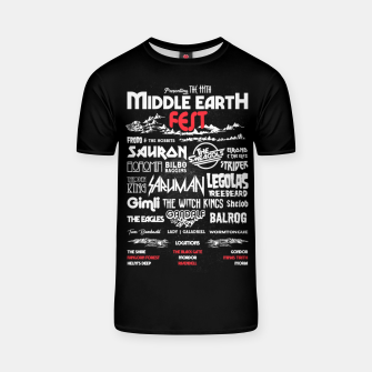Miniature de image de Middle Earth Fest T-shirt, Live Heroes