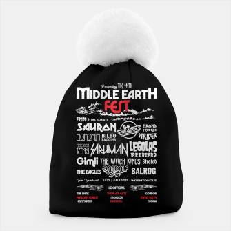 Thumbnail image of Middle Earth Fest Beanie, Live Heroes