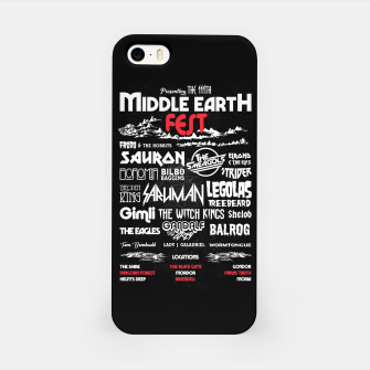Miniature de image de Middle Earth Fest iPhone Case, Live Heroes