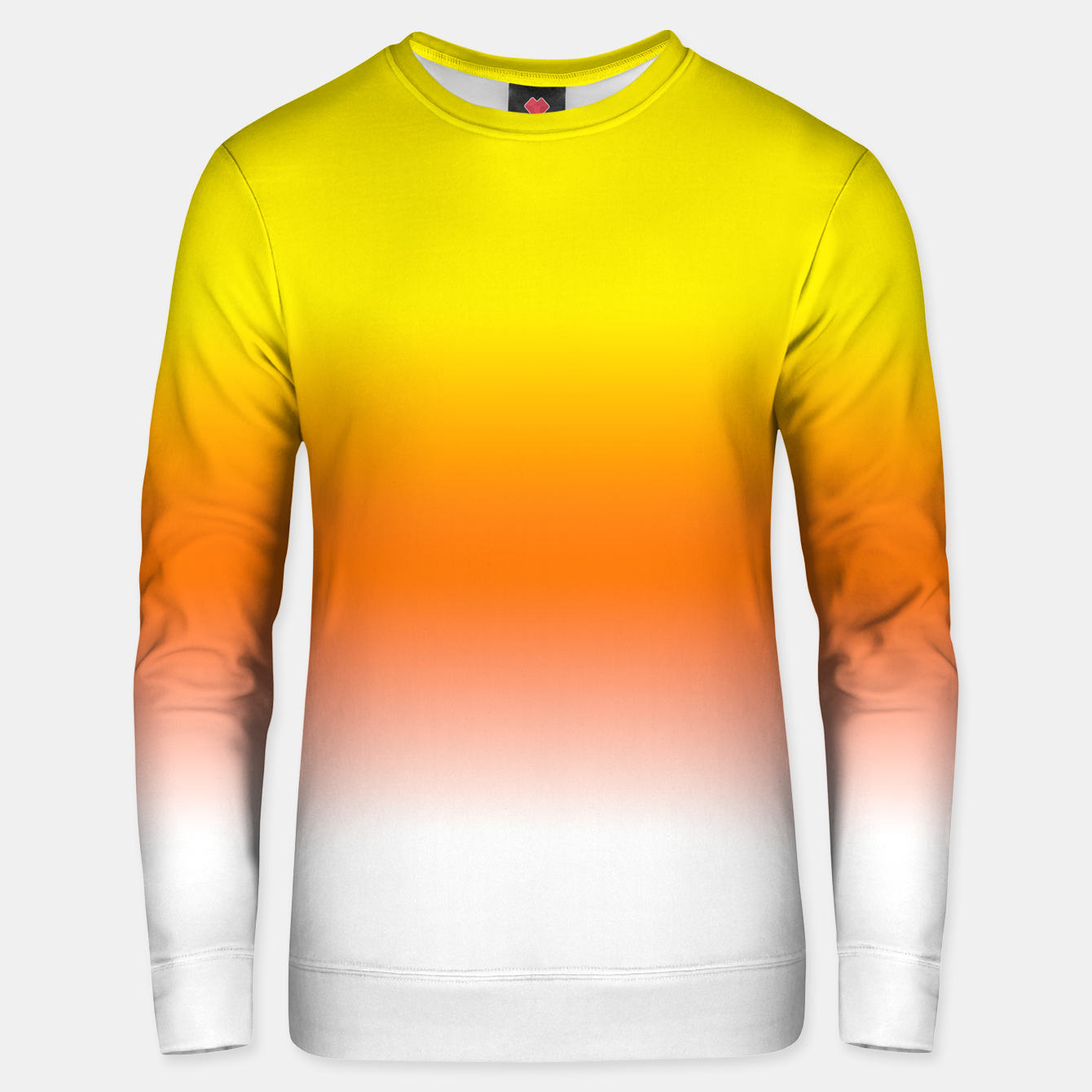 Image of Yellow Orange and White Halloween Candy Corn Cotton sweater - Live Heroes