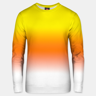 Yellow Orange and White Halloween Candy Corn Cotton sweater thumbnail image