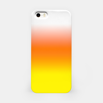 Yellow Orange and White Halloween Candy Corn iPhone Case thumbnail image