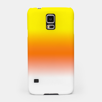 Yellow Orange and White Halloween Candy Corn Samsung Case thumbnail image