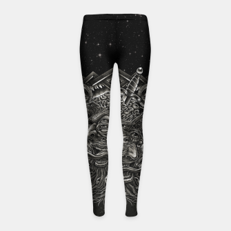 Thumbnail image of Winya No. 143 Girl's leggings, Live Heroes