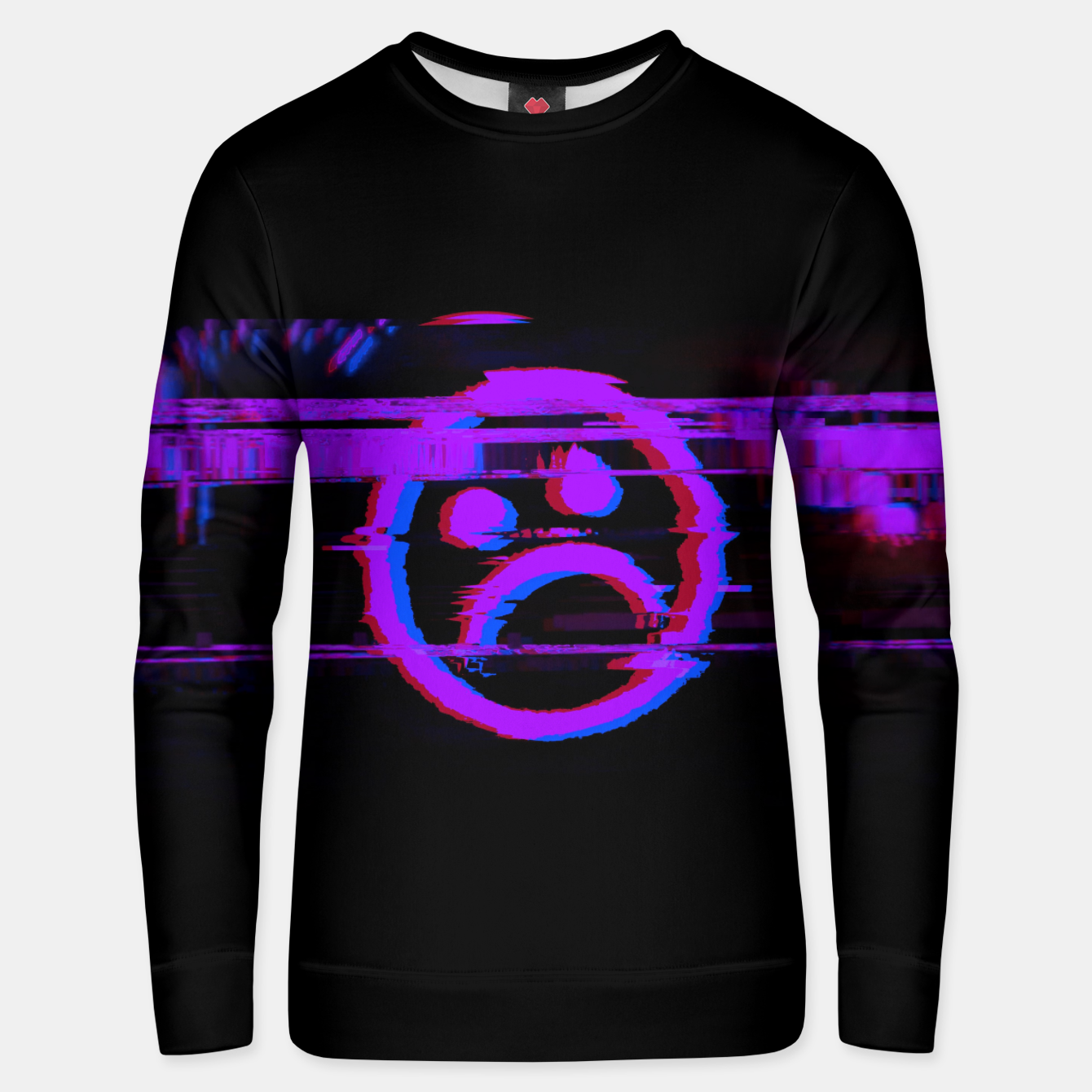 Image of SDBY_purple Cotton sweater - Live Heroes