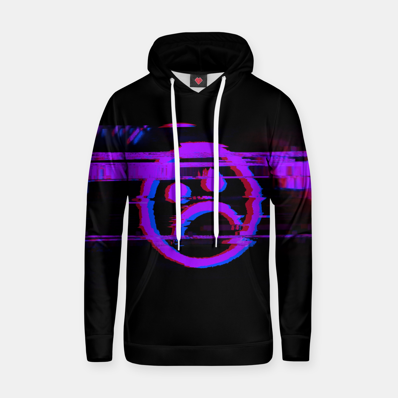 Image of SDBY_purple Cotton hoodie - Live Heroes