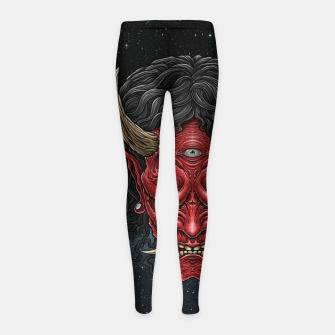 Thumbnail image of Winya No. 146 Girl's leggings, Live Heroes