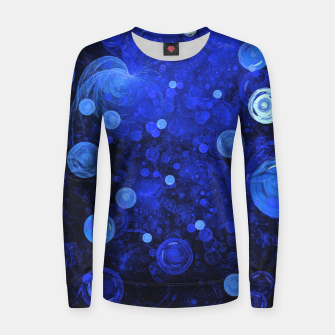 Thumbnail image of Ocean Gems | Woman cotton sweater, Live Heroes
