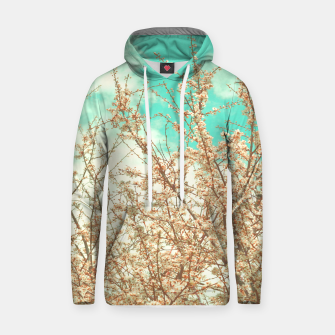 Thumbnail image of Spring blossoms trees Cotton hoodie, Live Heroes