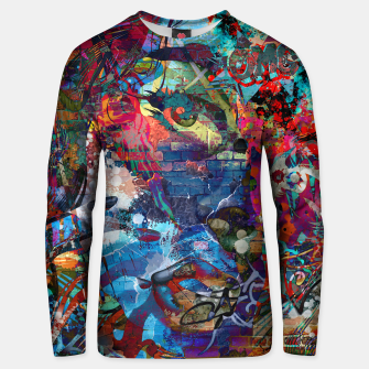 Thumbnail image of Oh My God Cotton sweater, Live Heroes