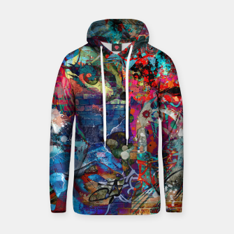 Thumbnail image of Oh My God Cotton hoodie, Live Heroes