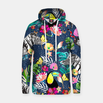Thumbnail image of Jungle Glow Cotton hoodie, Live Heroes