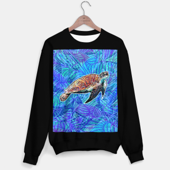 Thumbnail image of turtle Sweater regular, Live Heroes