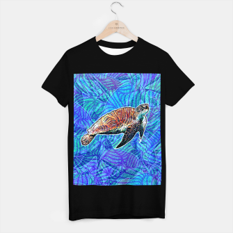 Thumbnail image of turtle T-shirt regular, Live Heroes