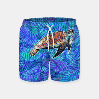 Thumbnail image of turtle Swim Shorts, Live Heroes