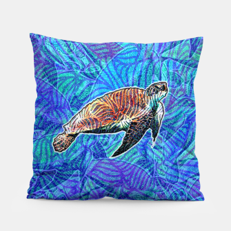 Thumbnail image of turtle Pillow, Live Heroes