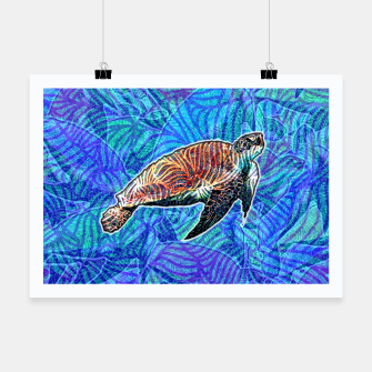Thumbnail image of turtle Poster, Live Heroes