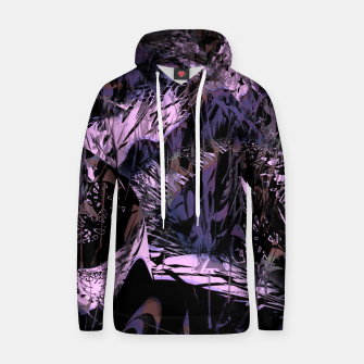 Thumbnail image of Pure purple in the rain Bawełniana bluza z kapturem, Live Heroes