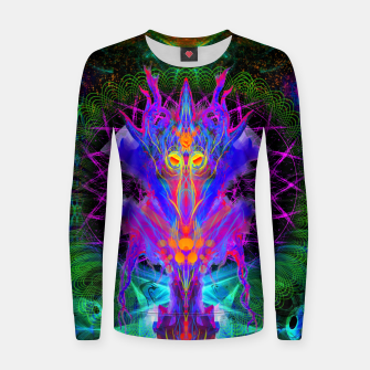 Thumbnail image of Lord Rokklu From Orion (Vallios Visual Kung Fu Collab) Woman cotton sweater, Live Heroes
