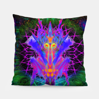 Thumbnail image of Lord Rokklu From Orion (Vallios Visual Kung Fu Collab) Pillow, Live Heroes
