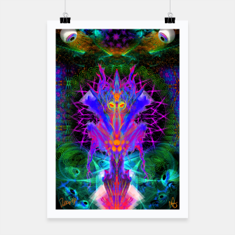 Thumbnail image of Lord Rokklu From Orion (Vallios Visual Kung Fu Collab) Poster, Live Heroes