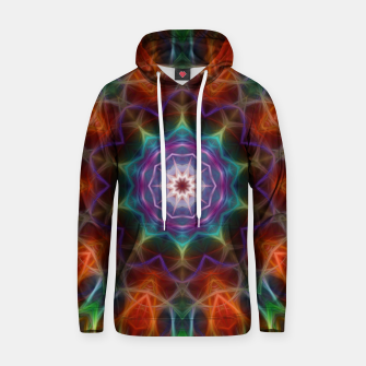 Thumbnail image of Rainbow Kaleidoscope Cotton hoodie, Live Heroes