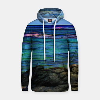 Thumbnail image of Hawaiian Ocean  Cotton hoodie, Live Heroes