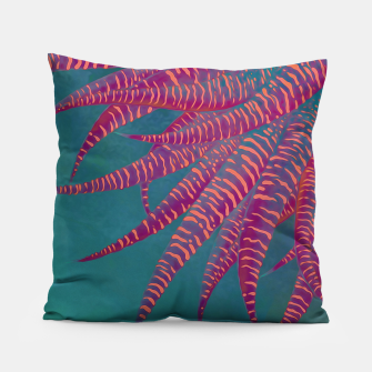 "Miniaturka ""Agave psychedelic colors pop-art Sci Fi Jungle"" Almohada, Live Heroes"