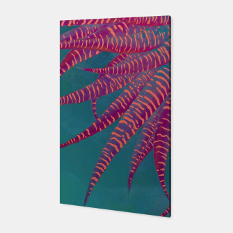 "Miniaturka ""Agave psychedelic colors pop-art Sci Fi Jungle"" Canvas, Live Heroes"