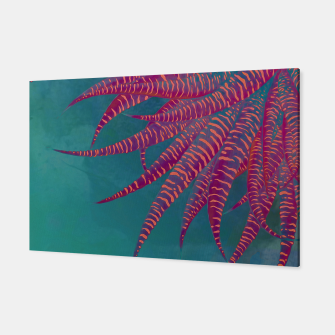 "Thumbnail image of ""Agave psychedelic colors pop-art Sci Fi Jungle"" Canvas, Live Heroes"