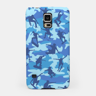 Thumbnail image of Skater Camo pattern OCEAN Samsung Case, Live Heroes
