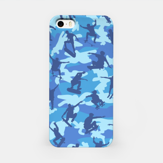 Thumbnail image of Skater Camo pattern OCEAN iPhone Case, Live Heroes
