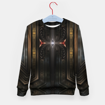 Thumbnail image of WPO M3PM2M8P Mech Tech Kid's sweater, Live Heroes