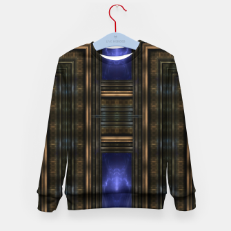 Thumbnail image of Gateways To Oblivion Mech Tech Kid's sweater, Live Heroes