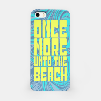 Once More Unto The Beach iPhone Case thumbnail image