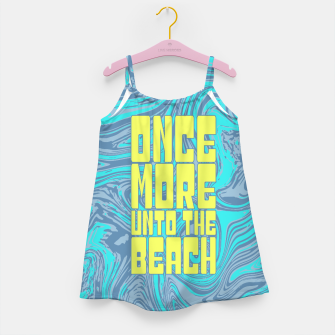 Once More Unto The Beach Girl's dress thumbnail image