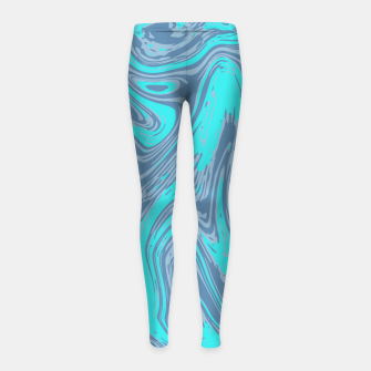 Once More Unto The Beach Girl's leggings thumbnail image