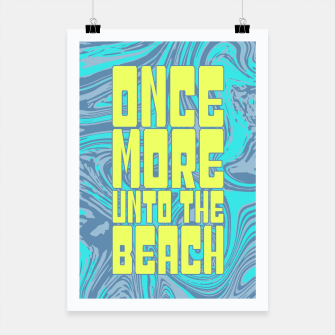 Once More Unto The Beach Poster thumbnail image