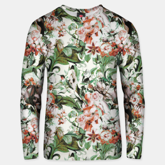 Thumbnail image of Exotic flowery abstract bouquet Sudadera de algodón, Live Heroes