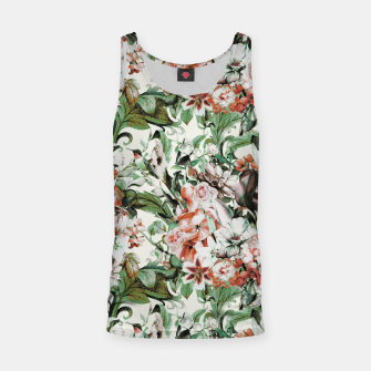 Thumbnail image of Exotic flowery abstract bouquet Camiseta de tirantes, Live Heroes