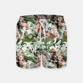 Thumbnail image of Exotic flowery abstract bouquet Pantalones de baño, Live Heroes