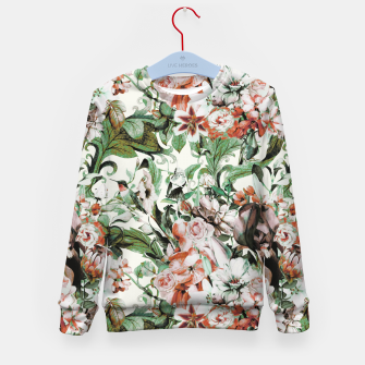 Thumbnail image of Exotic flowery abstract bouquet Sudadera para niños, Live Heroes