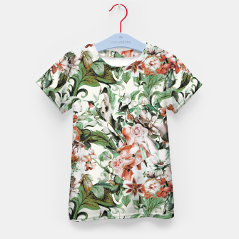 Thumbnail image of Exotic flowery abstract bouquet Camiseta para niños, Live Heroes